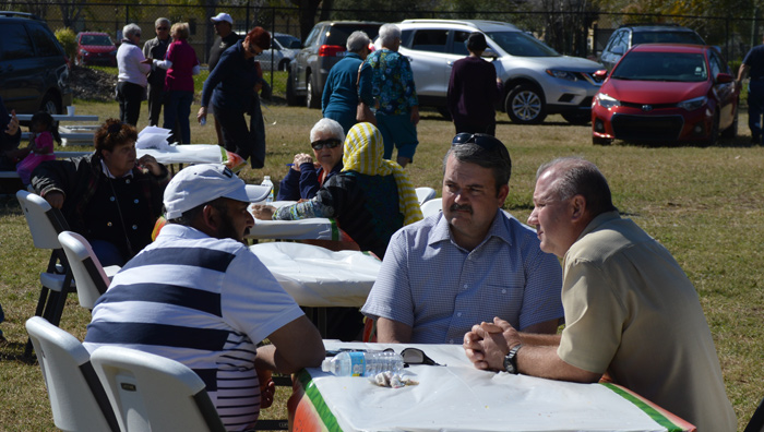 Interfaith BBQ, February 27, 2016