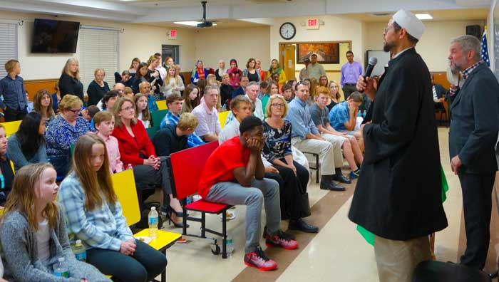 St. Lukes United Methodist Church Visits ICO - March 13, 2015